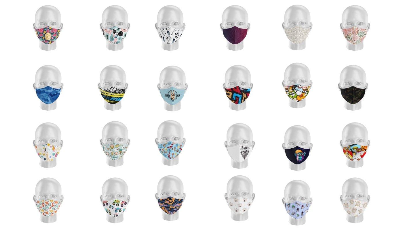 mascarillas diseñadas personalizadas
