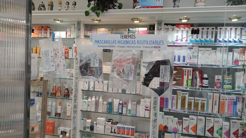 mascarillas de venta en farmacias - LASMASCARILLASPERSONALIZADAS.ES