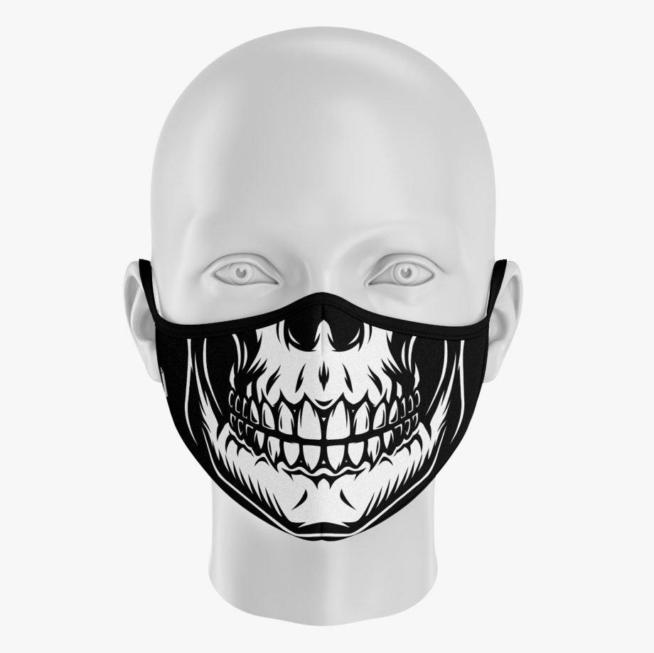 mascarilla esqueleto
