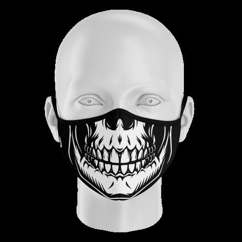 mascarilla halloween esqueleto