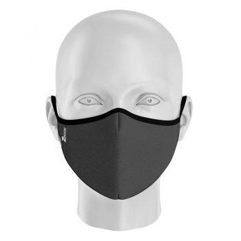 mascarilla gris oscuro