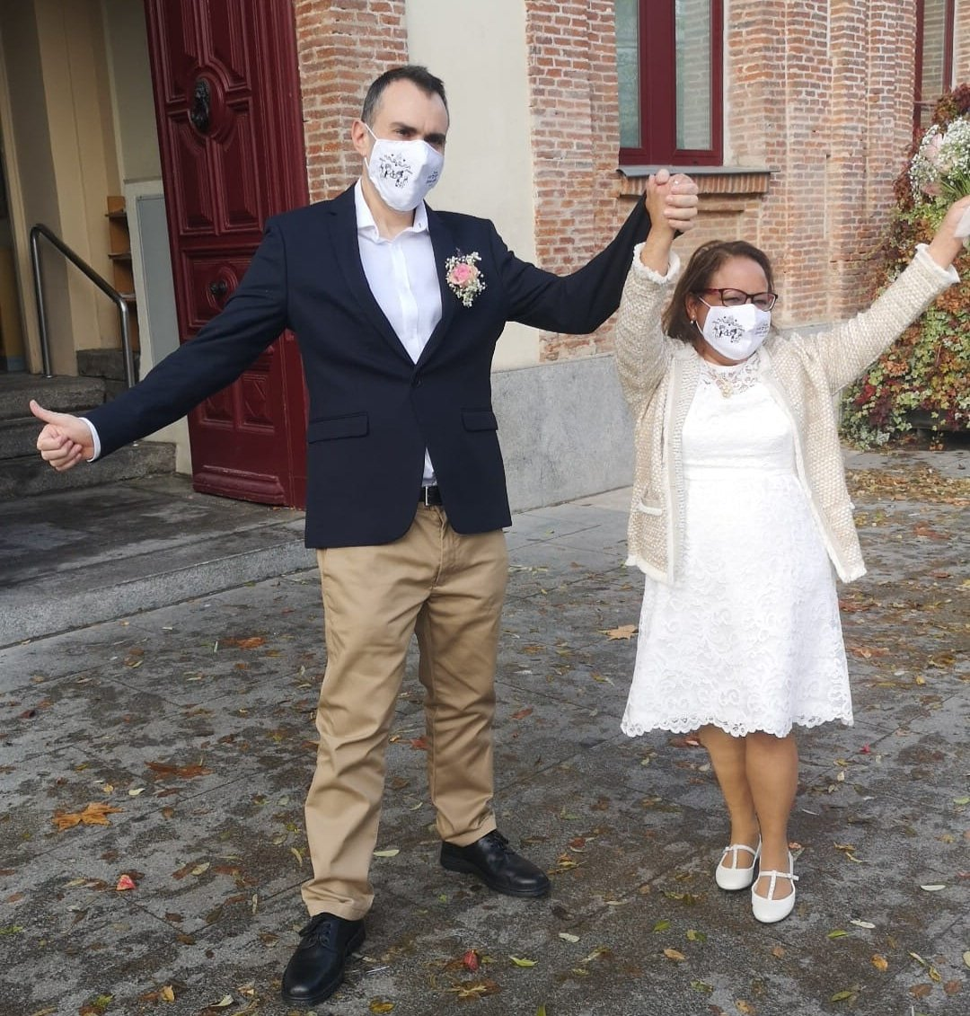 mascarilla bodas